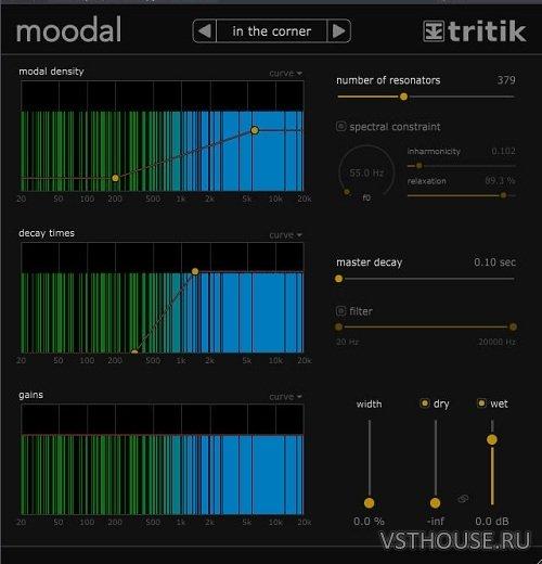 Tritik - Moodal 1 0 3 VST, AAX, AU WIN OSX x86 x64