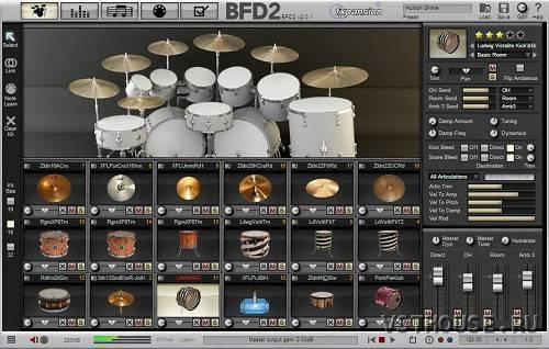 Виртуальная Ударная Установка Барабанов