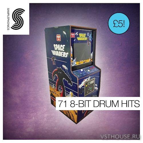 Samplephonics - 71 8-BIT DRUM HITS (WAV) - сэмплы ударных - Сэмплы