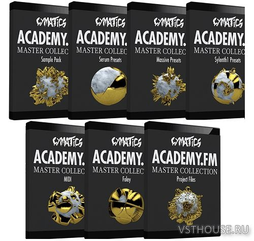 Cymatics Academy - The Master Collection (WAV, MIDI, SYNTH PRESET)