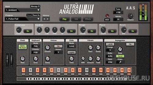 Applied Acoustics Systems - Ultra Analog VA-2 2.1.3 VSTi, AU WIN.OSX
