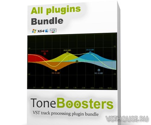 ToneBoosters - All Plugin Bundle 1.0.6 VST, VST3, AU WIN.OSX x86 x64