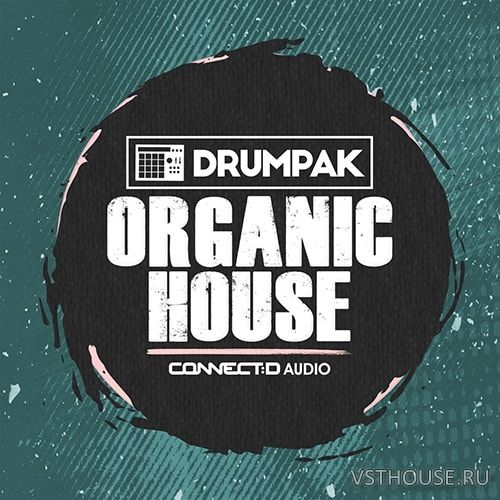 CONNECTD Audio - Drumpak Organic House