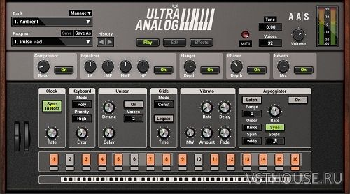 Applied Acoustics Systems - Ultra Analog VA-2 2.1.4 VSTi, AU WIN.OSX