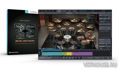 Toontrack - Metal Machinery SDX v1.5 (SUPERIOR DRUMMER)