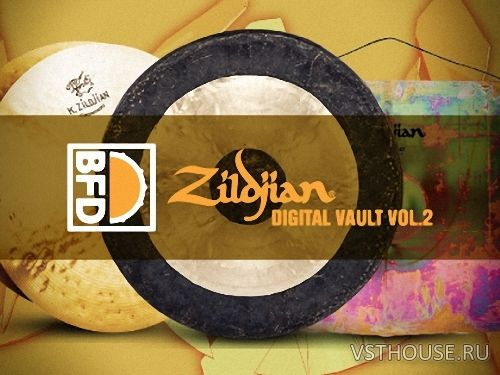 FXpansion - BFD Zildjian Digital Vault 2 (BFD3)