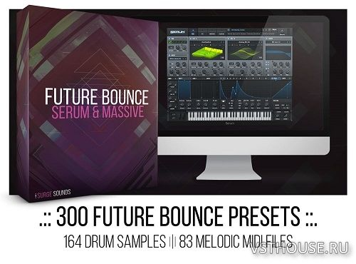Surge Sounds - Future Bounce (SYNTH PRESET, MIDI, WAV)
