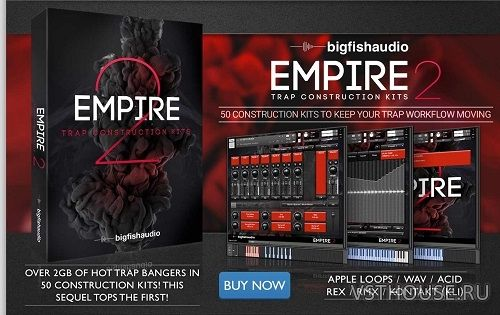 Big Fish Audio - Empire 2 Trap Construction Kits (KONTAKT)