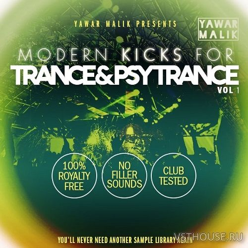 Yawar Malik - Modern Kicks for Trance & Psy Vol.1 (WAV)