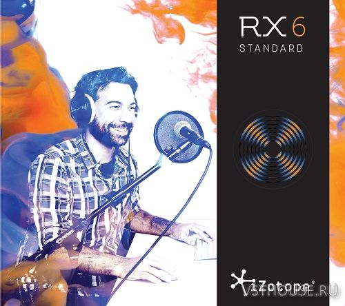 iZotope - RX 6 Audio Editor Advanced 6.10, VST VST3 NO INSTALL