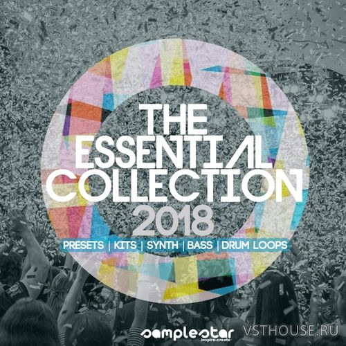 Samplestar - The Essential Collection 2018 (MIDI, WAV, SYLENTH1)