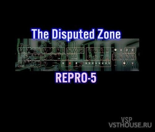 Vintage Synth Pads - The Disputed Zone Vol.1 for Repro-5