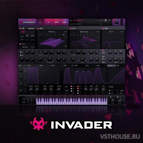 Delicate Beats - Invader for SERUM (SYNTH PRESET)