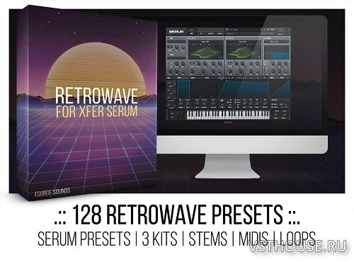 Surge Sounds - Retrowave For XFER RECORDS SERUM