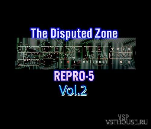 Vintage Synth Pads - The Disputed Zone Vol.2 for Repro-5