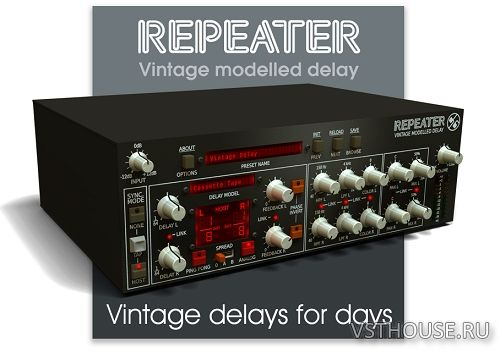 D16 Group - Repeater 1.1.4 VST, AAX x86 x64