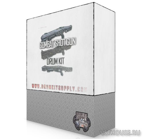 DrumKitsupply - Combat Shotgun Drum Kit (WAV)