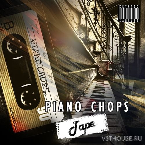 Kryptic Samples - Piano Chops Tape (WAV, MIDI)