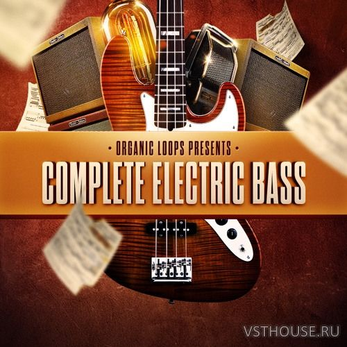 Organic Loops - Complete Electric Bass (WAV, REX, AIFF)