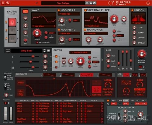 Propellerhead - Europa by Reason 2.0.0d80 VSTi x64