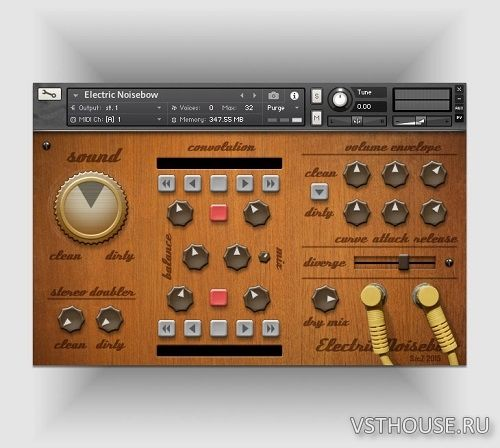 Fairly Confusing - Electric Noisebow V1.01 (KONTAKT)