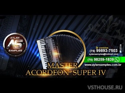 Aylan Samples - Acordeon Scandalli Super IV (KONTAKT)