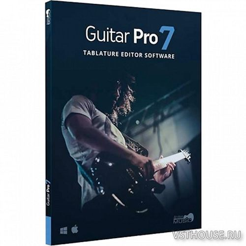 Arobas Music - Guitar Pro 7.0.9 Build 1186 x86 04.2018, MULTILANG