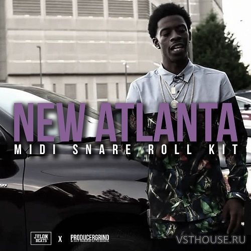 Producer Grind - New Atlanta Midi Snare Roll Kit (WAV, MIDI)
