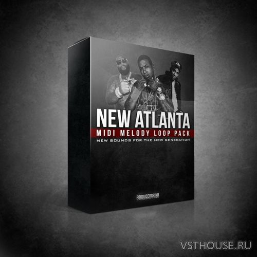 Producer Grind - NEW ATLANTA MELODY LOOP PACK (MIDI)