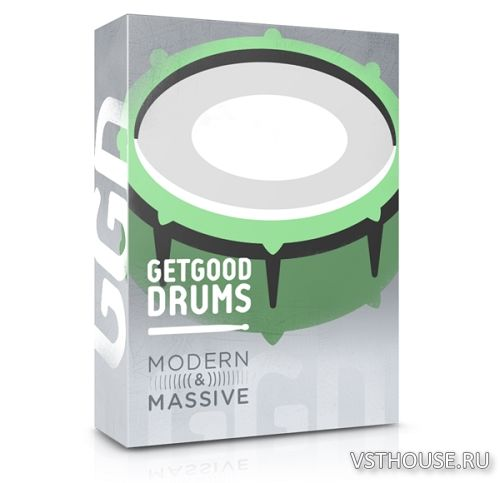 GetGood Drums - Modern and Massive Pack (KONTAKT)