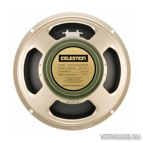 Celestion - G12M Greenback 2x12 (Closed) (WAV)