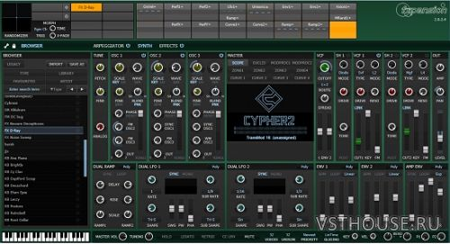 FXpansion - Cypher2 v2.4.8.0 VSTi, AAX x64