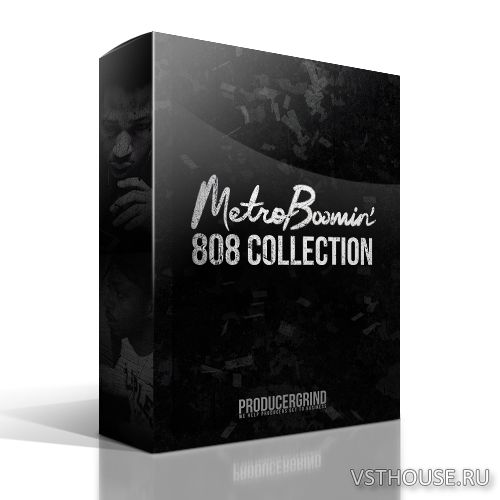 Producer Grind - THE METRO BOOMIN TYPE 808 COLLECTION PREMIUM DRUM KIT