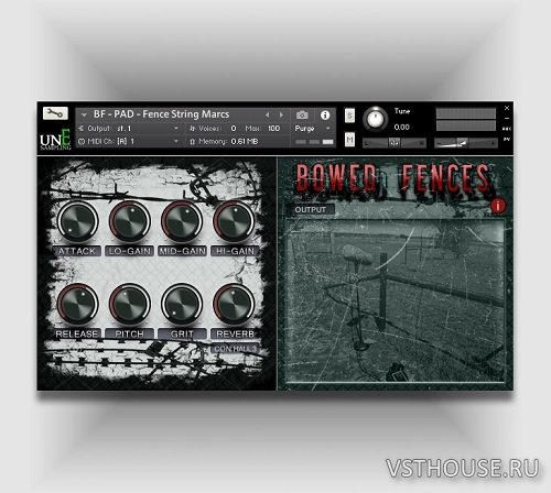 unEarthed Sampling - Bowed Fences (KONTAKT)