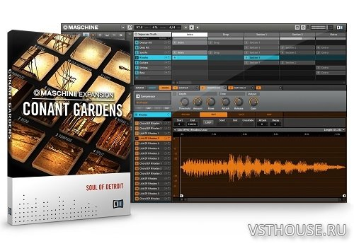 Native Instruments - Expansion Conant Gardens v.2.0.1 WIN-MAC