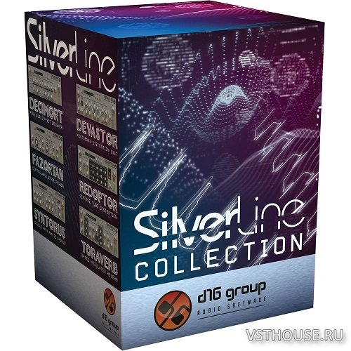 d16 Group - SilverLine Collection 2018.10 rev.2 VST, AAX x86 x64