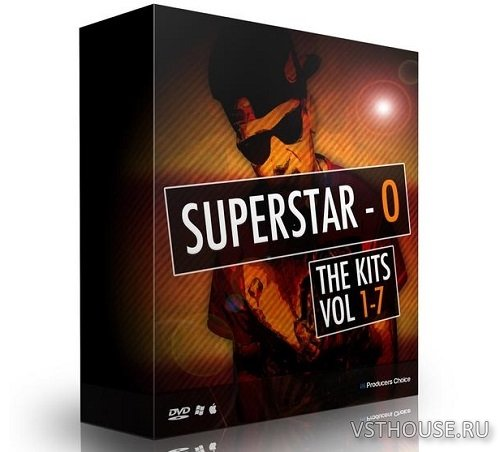 The Producers Choice - SuperStar O (SSO) Drum Kits Bundle (WAV)