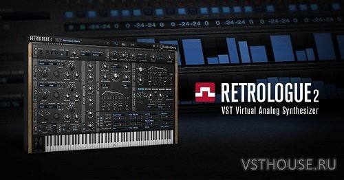 Steinberg - Retrologue 2.2.0 VSTi, VSTi3, AAX x64