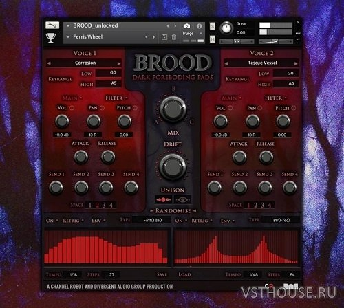 Audio Reward - Brood v1.2 (KONTAKT)