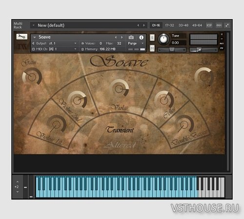 ImagikSound - Soave Sordino Strings (KONTAKT)