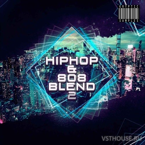 Kryptic Samples - Hip Hop & 808 Blend 2 (MIDI, WAV)