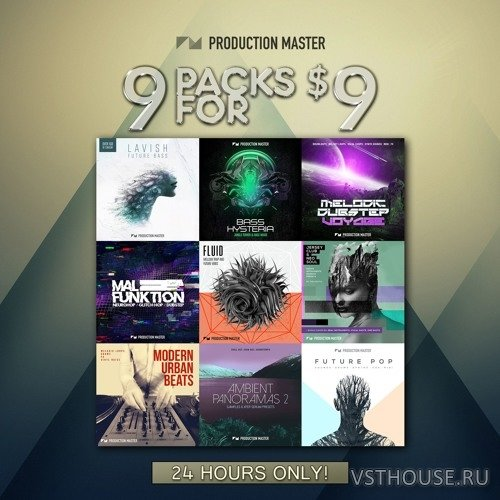 Production Master - 909 Bundle (MIDI, WAV, FXP)