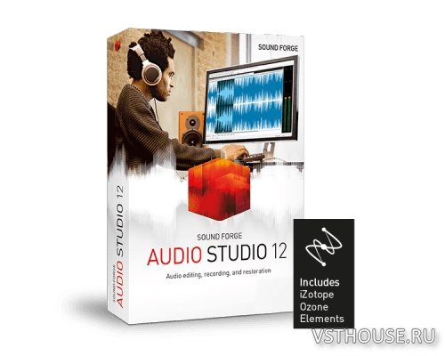 MAGIX - SOUND FORGE Audio Studio 12.6.0.361 x86 x64