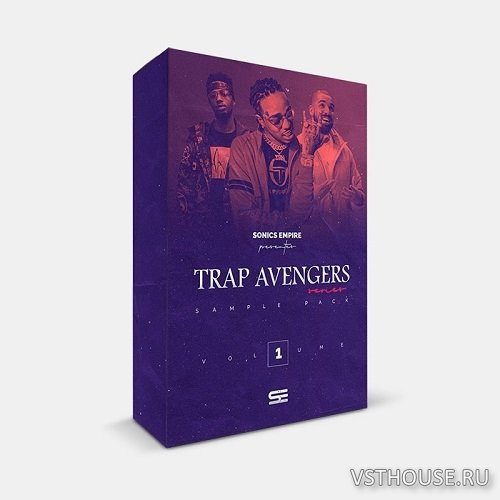 Sonics Empire - Trap Avengers Vol 1 (WAV)