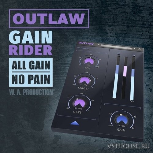 W.A.Production - Outlaw 1.0.1 VST, AAX, AU WIN.OSX x86 x64