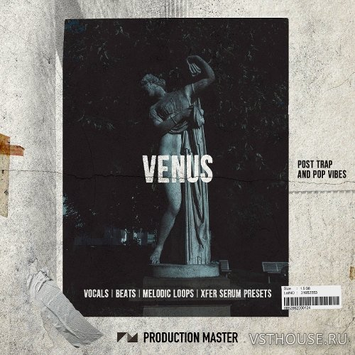 Production Master - Venus Post Trap & Pop Vibes XL Pack (WAV, SERUM)