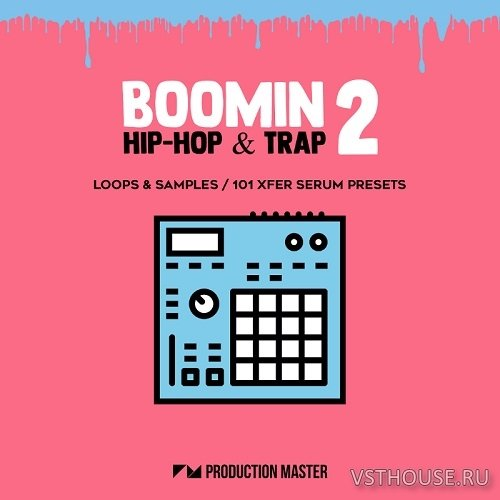 Production Master - Boomin Hip-Hop & Trap 2 (WAV, SERUM)