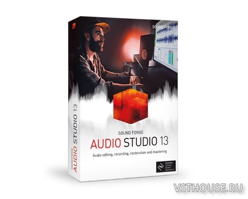 MAGIX - SOUND FORGE Audio Studio 13.0.0.45 x86 x64