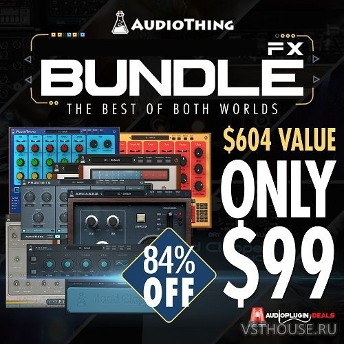AudioThing - Effect Bundle 2019.2 VST, VST3, AAX x86 x64