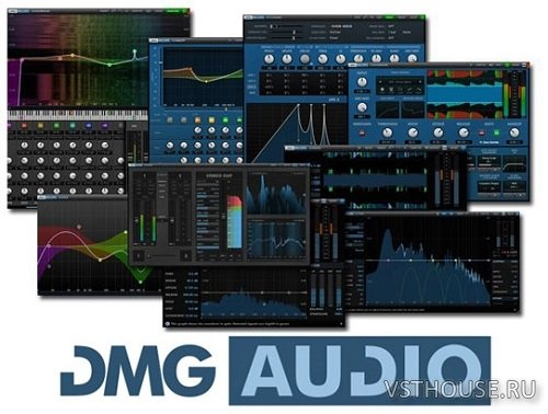 DMG Audio - Plugins Bundle 2019.2 VST, VST3, RTAS, AAX x86 x64